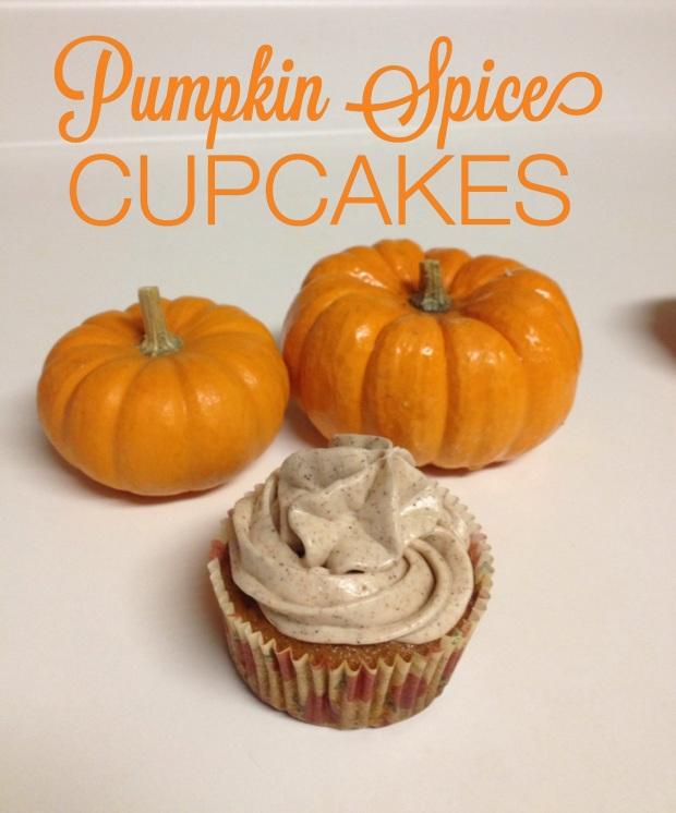 Pumpkin Spice Cupcakes