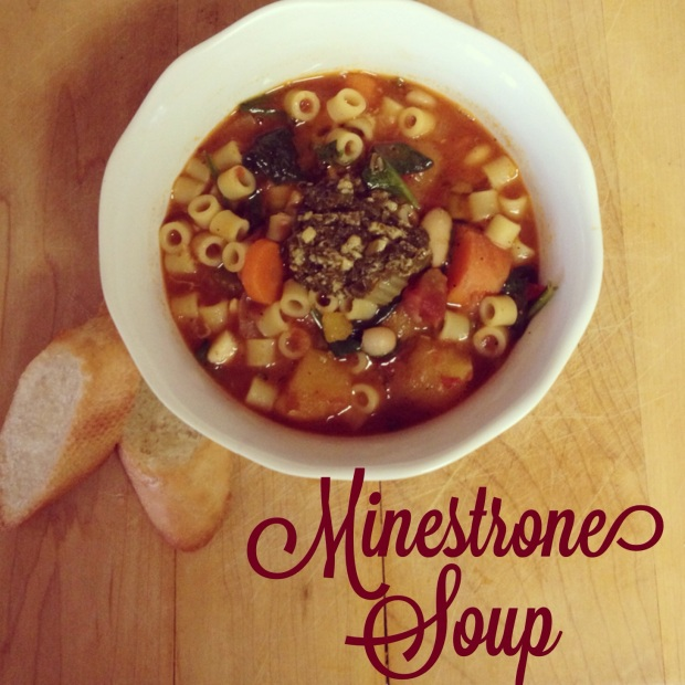 minsetrone soup
