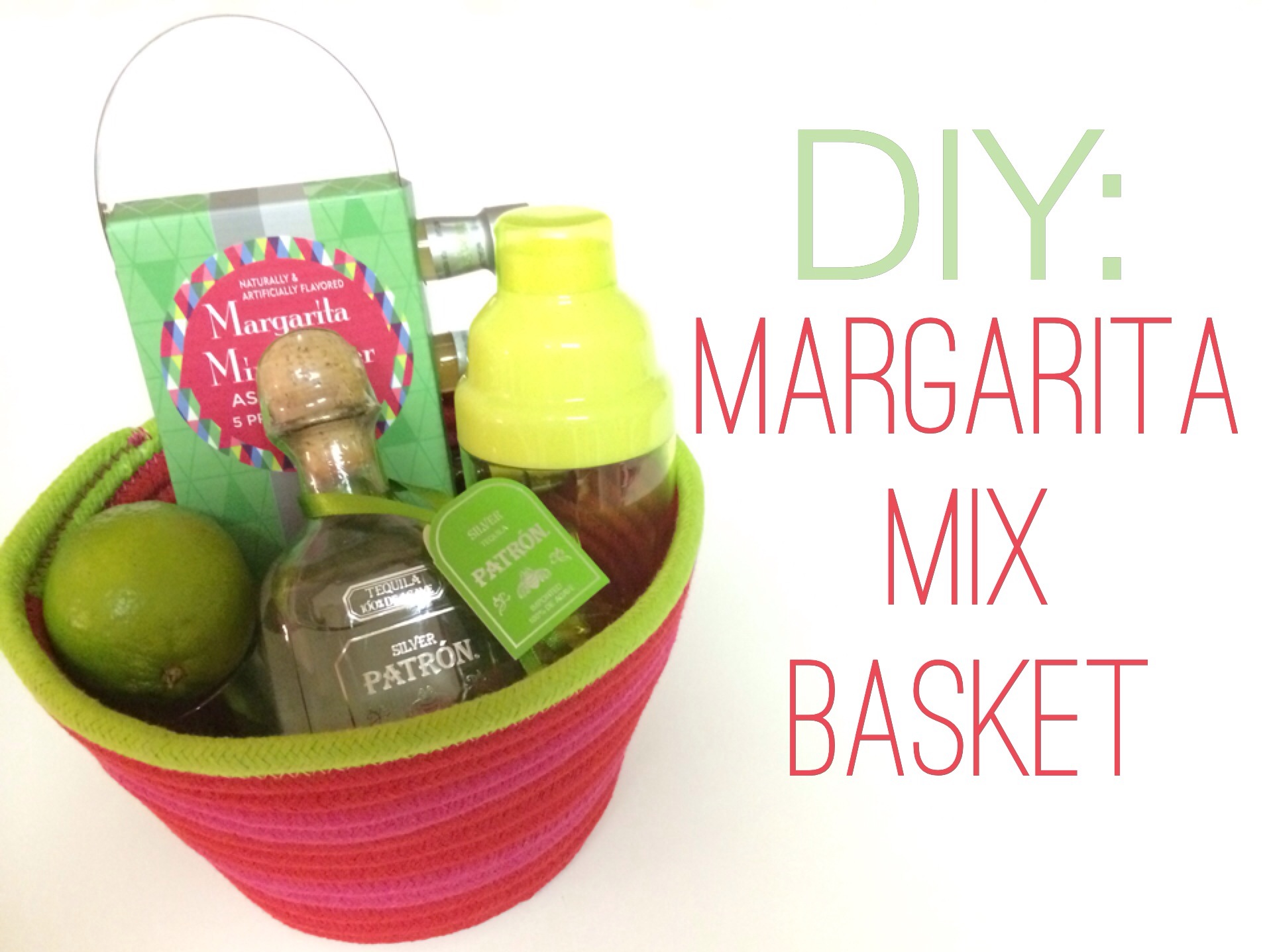 DIY: Margarita Mix Basket – Ashes & Wine